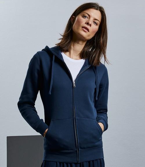 Russell Ladies Authentic Zip Hooded Sweatshirt