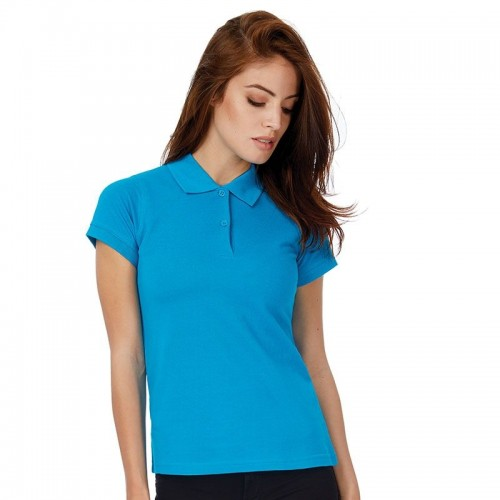 B&C Ladies Safran Pure Cotton Pique Polo Shirt