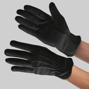 Black heat resistant gloves