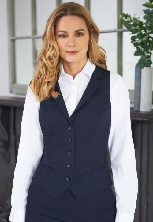 Larissa Ladies Pindot Waistcoat