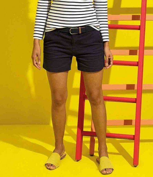 Asquith & Fox Women's Chino Shorts