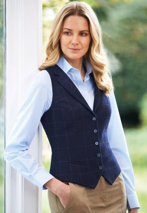 Nashville Ladies Tweed Waistcoat