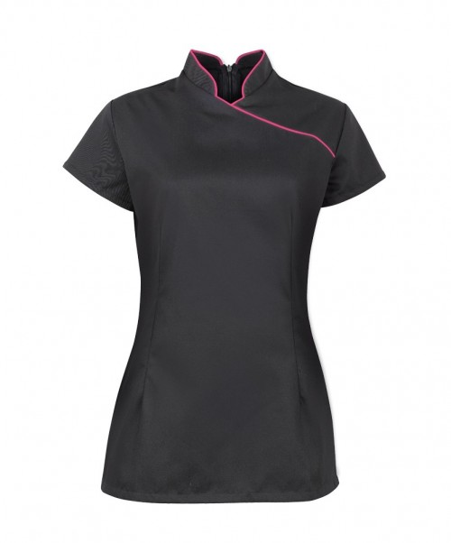 Women's stand collar beauty tunic