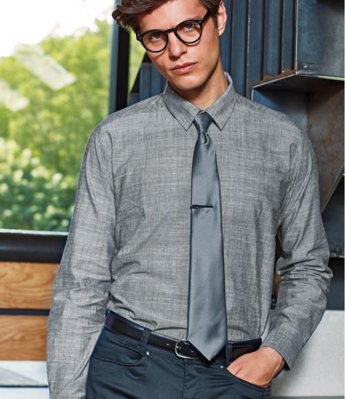 Premier Long Sleeve Chambray Shirt