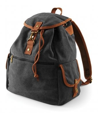 Quadra Vintage Canvas Backpack