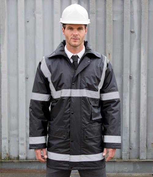 Result Work-Guard Reflective Management Coat