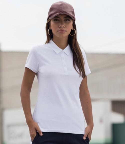 SF Ladies Fashion Jersey Polo Shirt