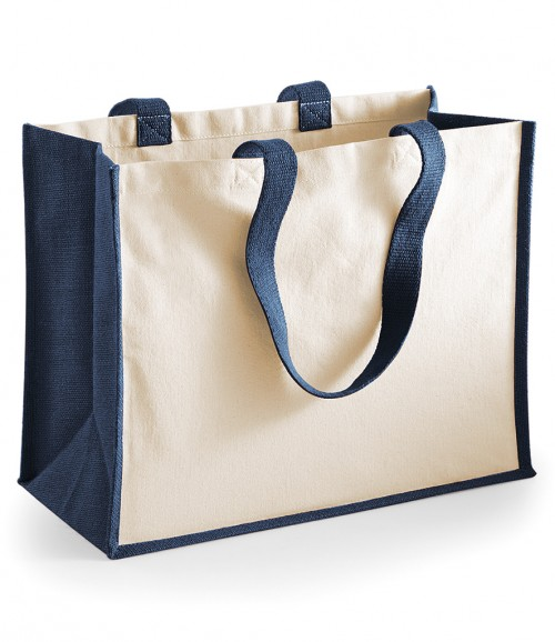 Westford Mill Printers Jute Classic Shopper