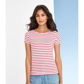 SOL'S Ladies Miles Stripe T-Shirt