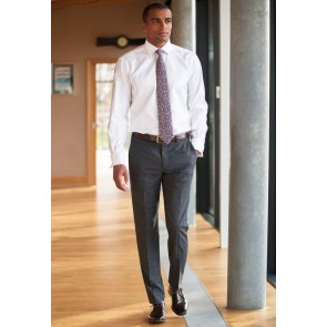 Cassino Slim Fit Check Trouser