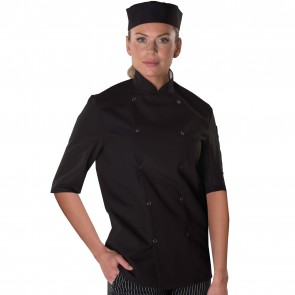 Dennys Easy-Care Short Sleeve Chef's Jacket