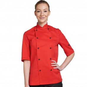 Dennys Technicolour Short Sleeve Chef Jacket