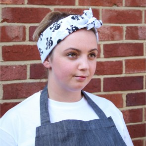 Le Chef Cotton Patterned Headscarf