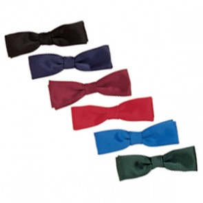 Polyester/satin bow ties