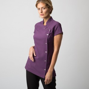 Women's easycare wrap beauty tunic