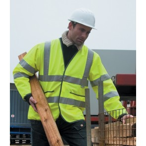 Result Lightweight Motorway Hi-Vis Safety Jacket