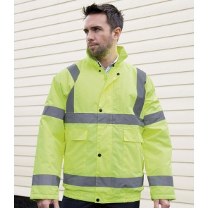 Result Hi-Vis Winter Blouson Jacket