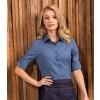Premier Cross-Dye Roll Sleeve Shirt
